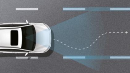 Sustav upozorenja prilikom prelaska vozne trake