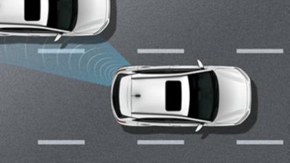 Upozorenje na vozilo u mrtvom kutu (BCW)* u kombinaciji sa sustavom pomoći zadržavanja vozila u voznoj traci (LKA)