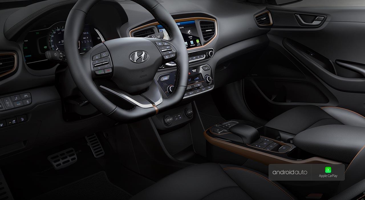 Hyundai Ioniq EV kokpit
