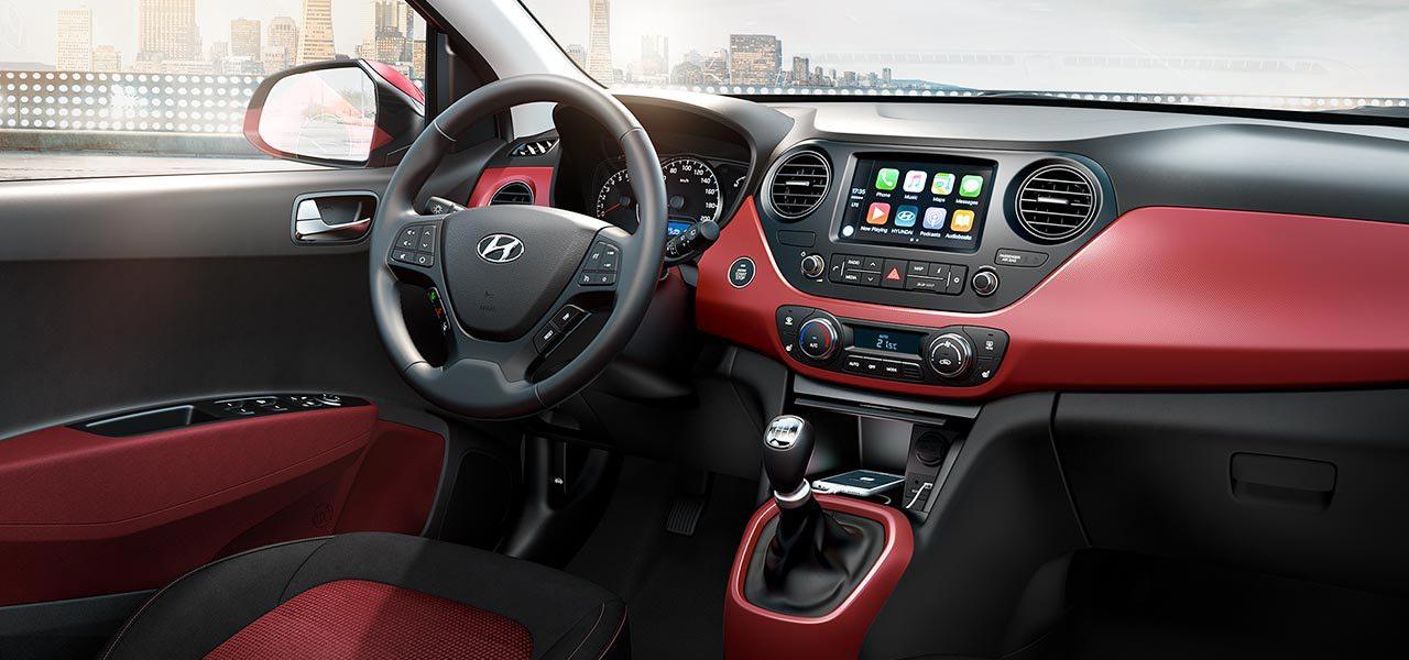 Hyundai i10 dizajn unutrašnjosti