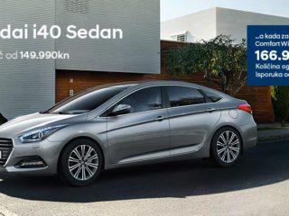 Hyundai i40 Sedan već od 149.990 kn