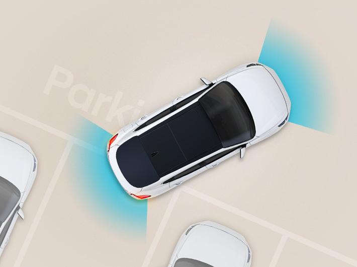 Stražnji i prednji sustav pomoći pri parkiranju
