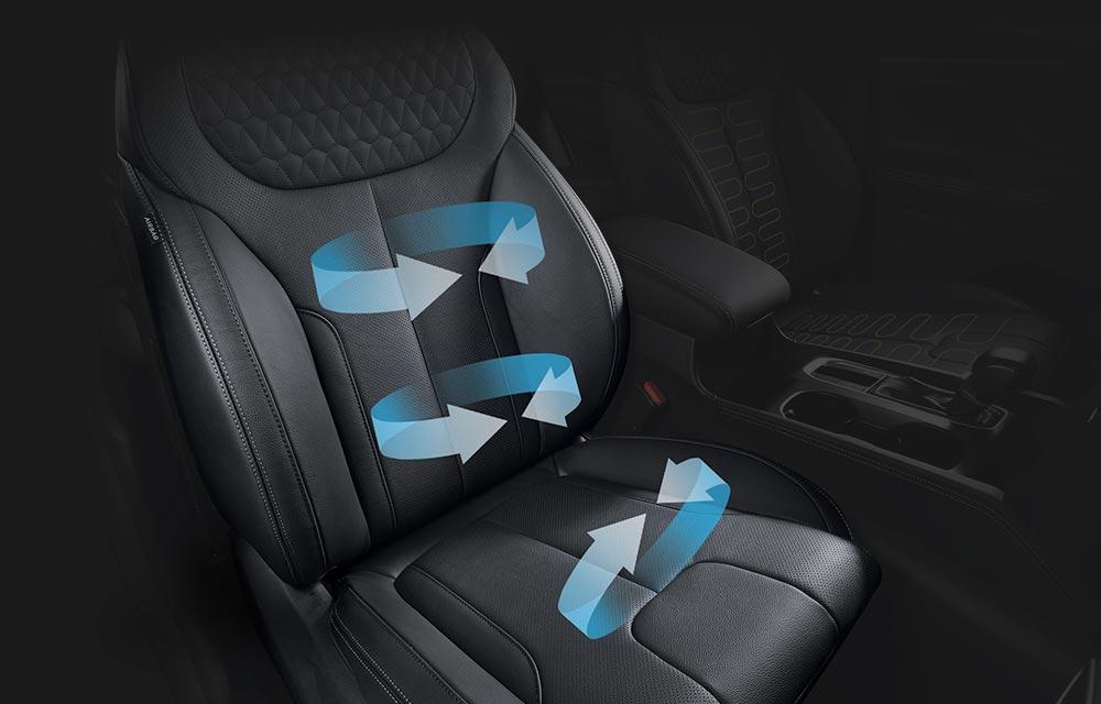 Grijana i ventilirana* sjedala