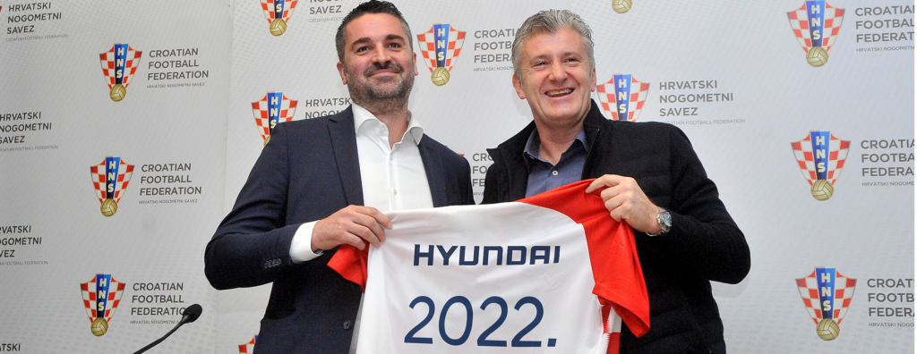 Hyundai – službeni partner Hrvatskog nogometnog saveza