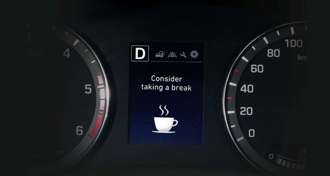 Sustav upozorenja vozača na umor (DAW)