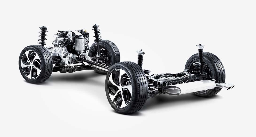 HTRAC™ pogon na sve kotače