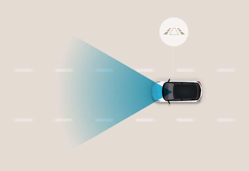 Sustav upozorenja o napuštanju voznog traka (Lane Departure Warning - LDW)*