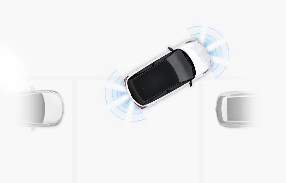 Prednji i stražnji sustav pomoći pri parkiranju (PAS)*
