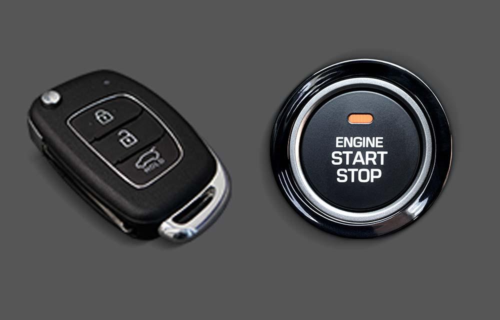 Pametni ključ i gumb za pokretanje/zaustavljanje motora