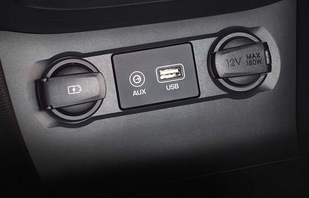USB utor i AUX-in