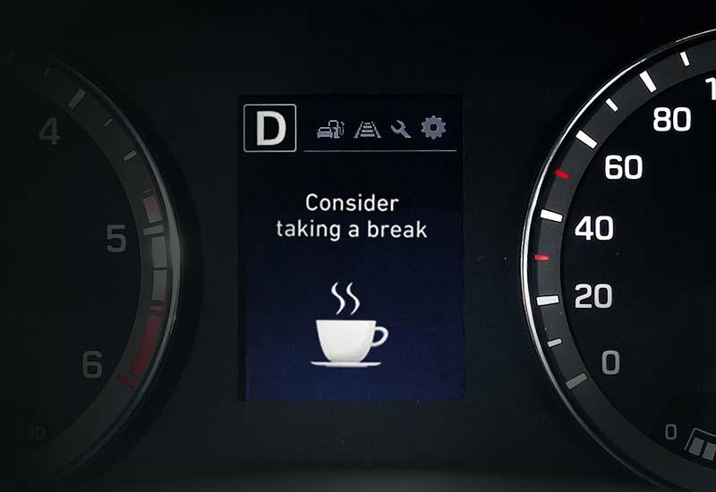 Sustav upozorenja vozača na umor (Driver Attention Warning - DAW)*