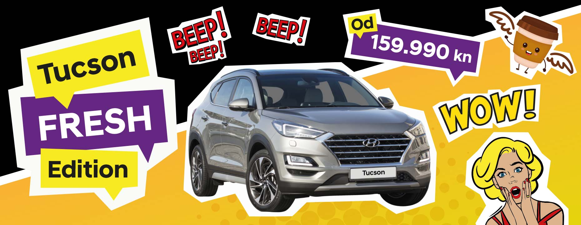 Hyundai Tucson Fresh akcija