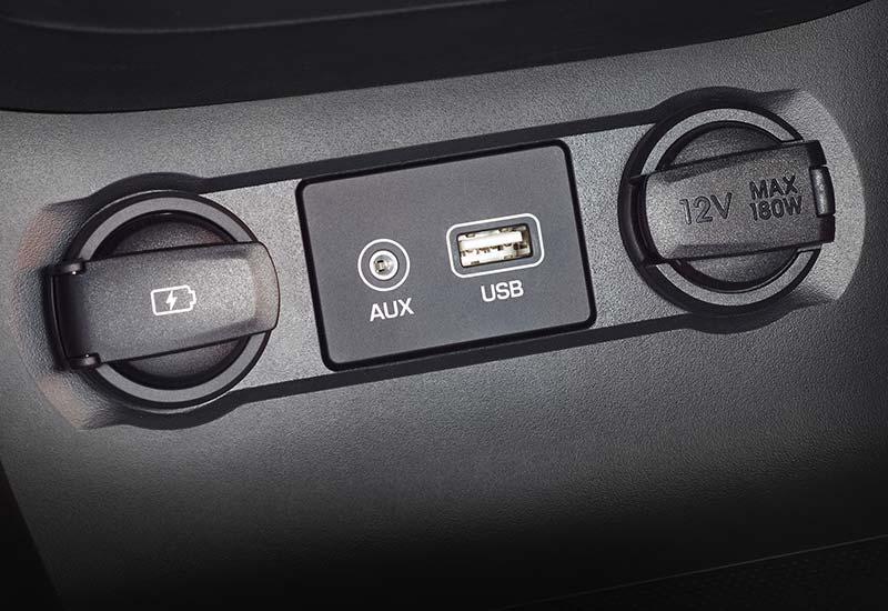 USB i AUX priključci