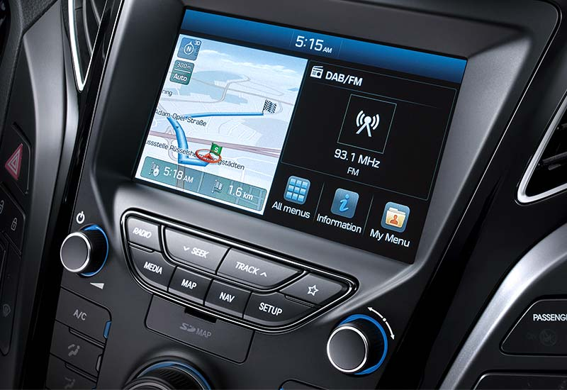 Audio sustav (Radio / DAB / CD /MP3)