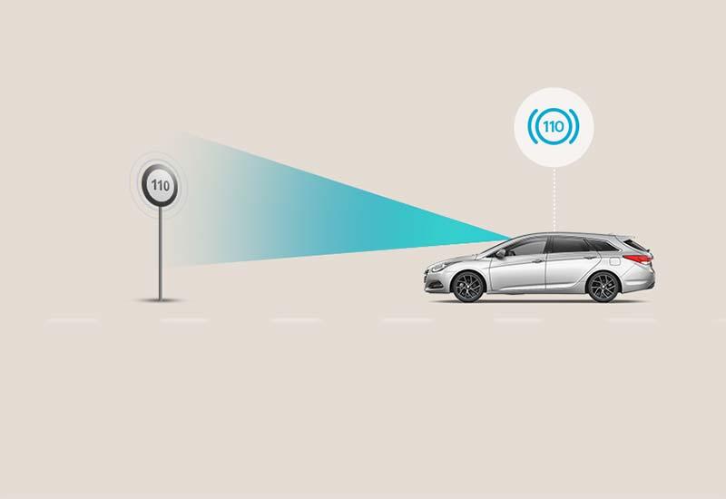 Pametno upozorenje o ograničenju brzine (Intelligent Speed Limit Warning - ISLW)*
