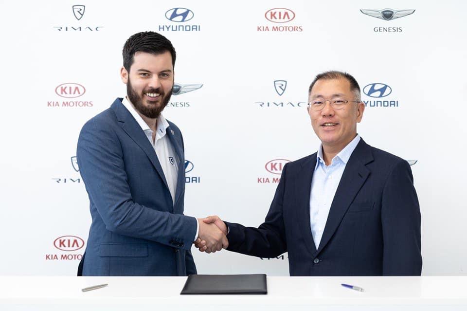 Hyundai motor grupa suraduje s Rimac automobilima!