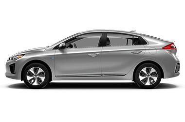 Ioniq EV Platinum Silver
