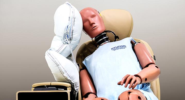Hyundai Motor Group razvio je središnje bočne zračne jastuke