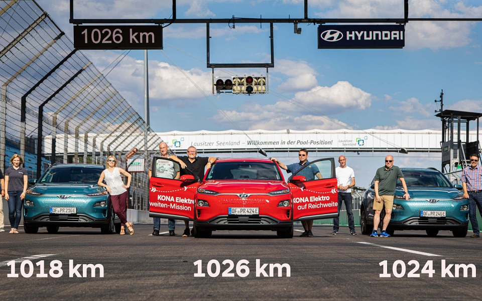 Novi rekord Kone Electric: domet čak 1.026 km!