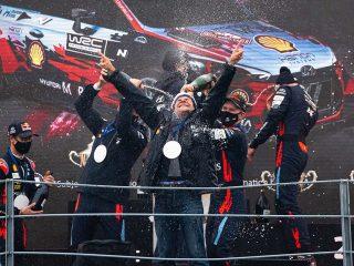 Hyundai Motorsport slavi drugi uzastopni WRC konstruktorski naslov!
