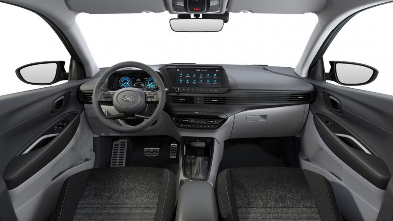 Prostrana unutrašnjost Hyundai Bayona