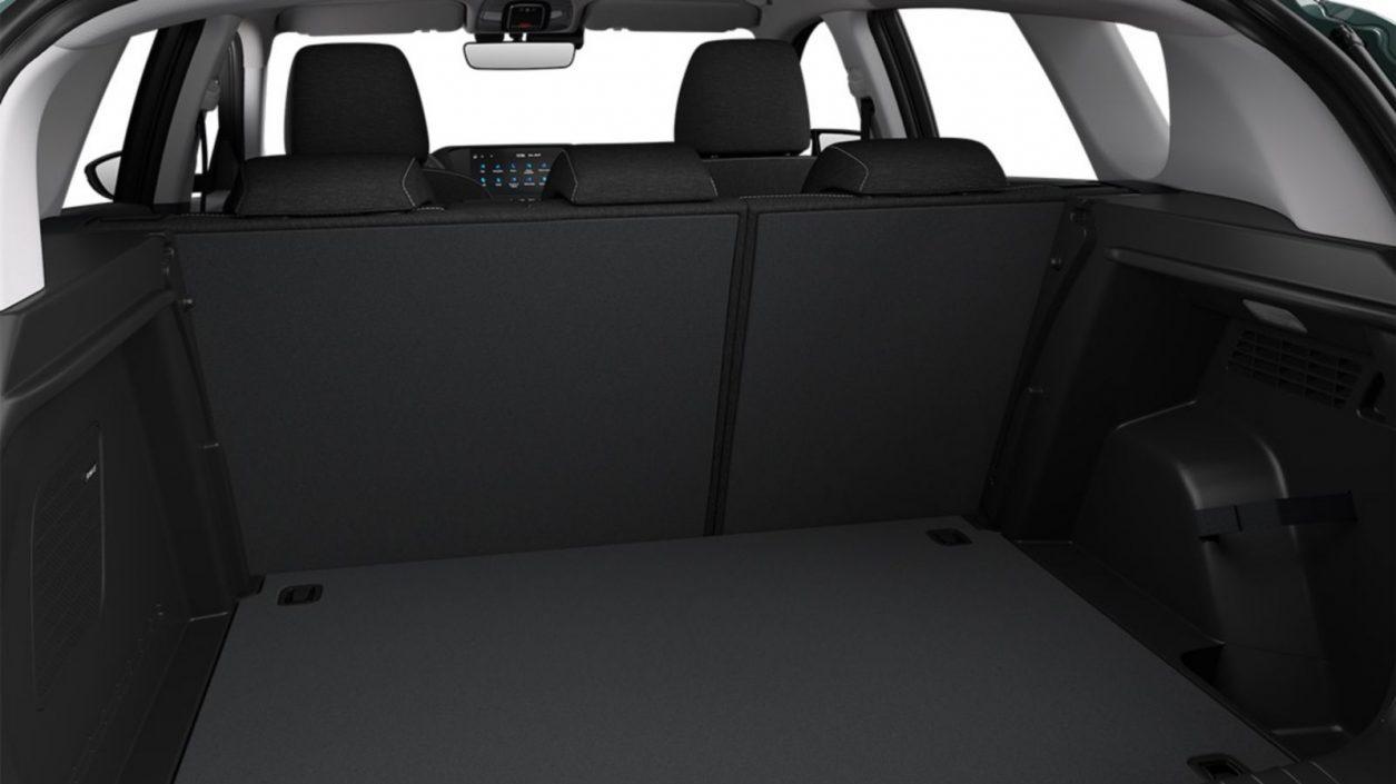 Pogled na prtljažnik Hyundai Bayona