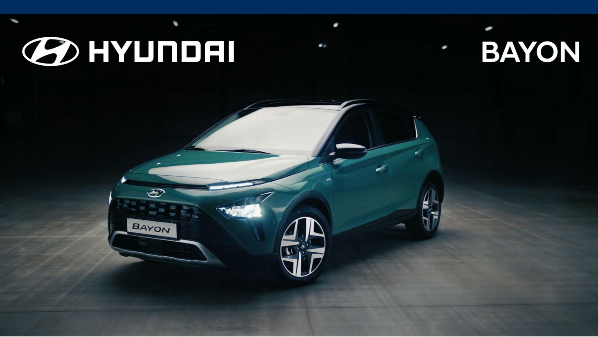 Potpuno novi BAYON najnoviji je - i najkompaktniji - član Hyundaijeve nagrađivane SUV obitelji.